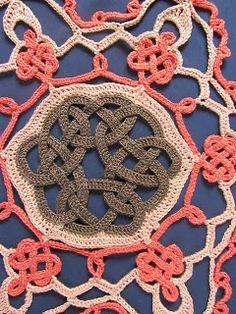 Celtic Knot Crochet: Autumn Snowflake