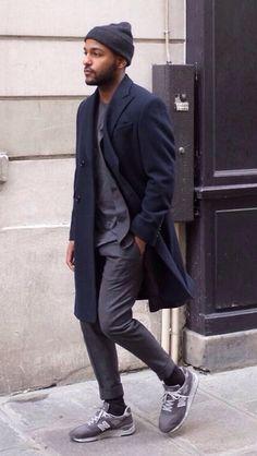 suit + new balance