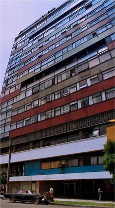 Condominios Reforma, Paseo de la Reforma 369, México  DF 1955   Arqs. Mario Pani y Salvador Ortega