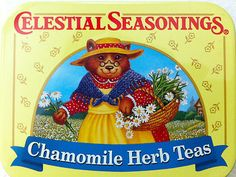tin for Chamomile Herb Tea by Celestial Seasonings