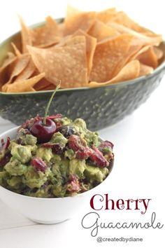Cherry Guacamole from @createdbydiane