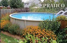 Am nagement paysager on pinterest - Amenagement piscine hors terre ...