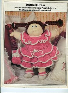 Free Crochet Doll Clothes Patterns | CLOTHES CROCHET DOLL PATTERN VINTAGE « CROCHET FREE PATTERNS