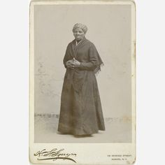 Harriet Tubman, photograph, 1885