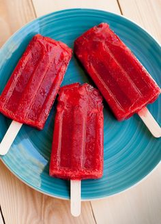 Paletas � Mexican Popsicles  / Strawberry