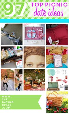 I am in love with this picnic ideas collection. I'm stealing so many of these ideas.