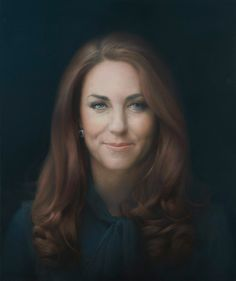First portrait of The Duchess of Cambridge
