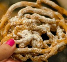 """Momma's Fair Funnel Cake: """"Now this was just FUN! The kids went NUTS over them and were begging for more!"""" -Shae"""
