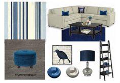 famili room, add blue