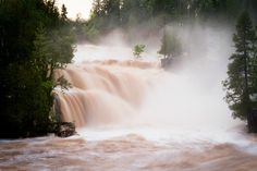 Gooseberry Falls - flood