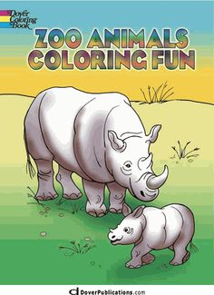 Zoo Animals Coloring Fun