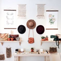 Macrame wall hangings are back in stock in the store!