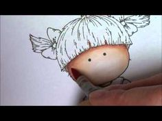 Coloring skin with Copics video by Rach