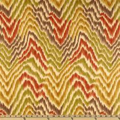 Tommy Bahama Home Ebb & Flow Nutmeg - Discount Designer Fabric - Fabric.com