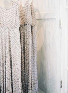 Gorgeous bridesmaid dresses: http://www.stylemepretty.com/2014/09/18/destination-glam-haiku-mill-wedding-by-bryce-covey-photography/ | Photography: Bryce Covey - http://brycecoveyphotography.com/