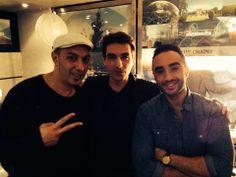 Mohamed Kaci avec HK et les déserteurs et Matteo El Khodr.