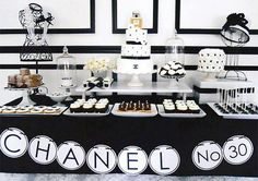 chanel table