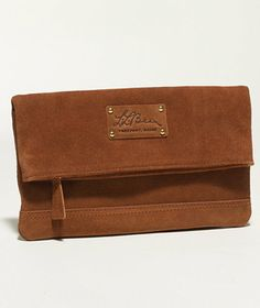 Heritage Nubuck Clutch: BAGS | Free Shipping at L.L.Bean Signature