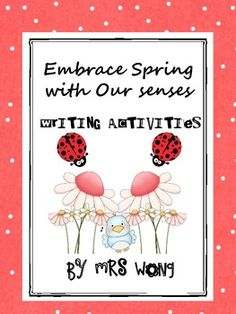 Writing Activity.  Objective: To learn descriptive writing of spring/nature with the use of  colorful adjective, sentence pyramid etc. Use a step by step learning a...