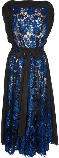 VIONNET PARIS   Metallic Lace Dress - Lyst
