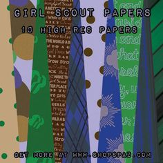 Girl Scout Scrapbooking Freebies!