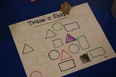 Trace-a-shape