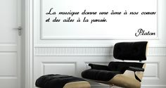 Sticker La musique selon Platon