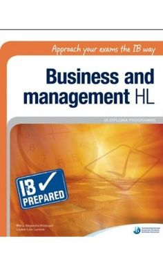 IB Prepared is a dynamic series of resources that helps students and teachers prepare for key elements of the IB programmes. These books provide practical support and guidance to help students prepare for their Diploma Programme exams. ISBN: 9781906345310