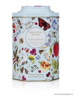 Heritage tea caddy by Crabtree & Evelyn