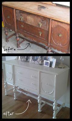 buffets, paint furniture, furniture arrangement, china cabinets, painted furniture, old furniture, antique furniture, diy furniture, painting furniture