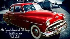 1952 Plymouth Cranbrook Club Coupe - missing the words to describe how beautiful this Plymouth is! #classiccars | UsedOttawa.com