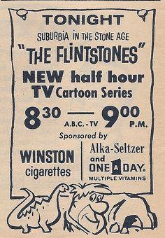 Television listing, 1960  Flintstones