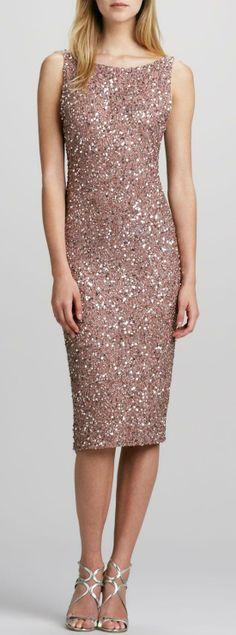 Pink Shimmer Dress