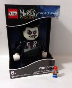 *NEW* LEGO Monster Fighters Alarm Clock - Lord Vampyre