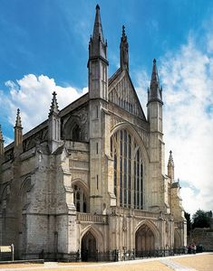 Winchester Cathedral, England.