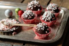 Peppermint Kahlua Oreo Cookie Balls
