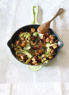 Easy Vegan Stir-Fry with Tofu and Bok Choy | Vegetarian Times