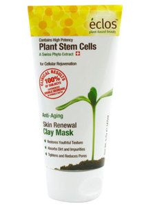 Eclos Skin Renewal Clay Mask $12.99 ~ Refreshing mask for the T-zone or all over! Shrinks pores without overdrying -- love the results. #eclos #eclosskincare #freemanbeauty #skincare #applestemcells #antiaging