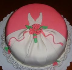 Bachelorette cake.