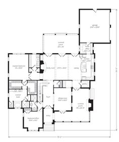 Elberton Way - Mitchell Ginn | Southern Living House Plans