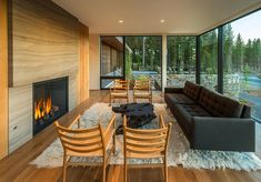 modern fireplaces, hous