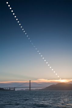 Eclipse over the Golden Gate Bridge by Pelo78, via Flickr