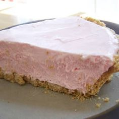 """Pink Lemonade Pie   """"This is a wonderful pie for parties, or just for yourself. It's great on a hot summer day, but you could make it any time of year - so refreshing."""""""