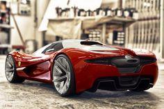 Ferrari diseñado por el finalista del Ferrari world design contest