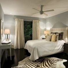 Soothing colors for the bedroom