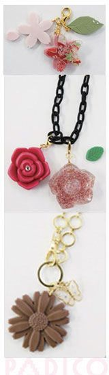 soft mold for clay flowers from Japan #diy #clay #crafts
