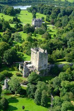 Blarney Castle, Cork, Ireland. gift of the gab.
