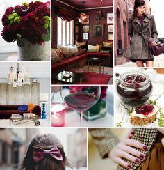 Mood Board Monday: Burgundy (http://blog.hgtv.com/design/2012/11/19/mood-board-monday-burgundy/?soc=pinterest)