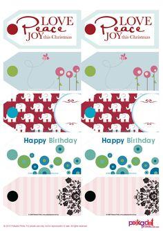 35 FREE Christmas Printables!