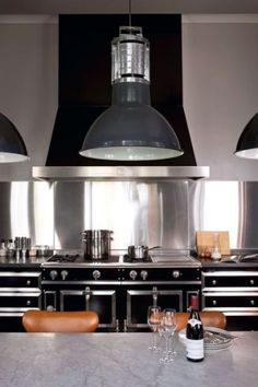 Une cuisine design #cuisine #kitchen